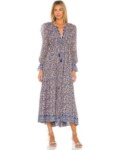 Восточное платье миди с подкладкой из вискозы Saylor