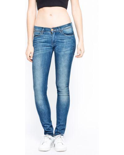 Прямые джинсы синие с запахом Wrangler