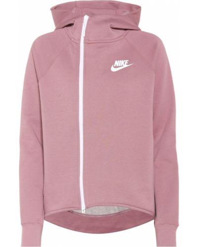 Толстовка с высоким воротником фиолетовый Nike
