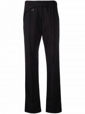Spodnie wełniane - czarne Jacquemus