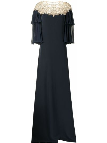 Niebieska sukienka Jenny Packham