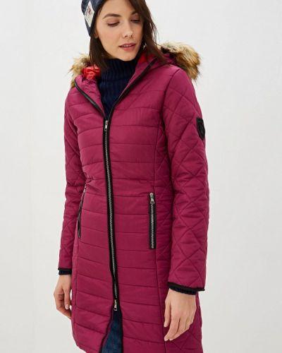 Фиолетовая утепленная куртка Giorgio Di Mare