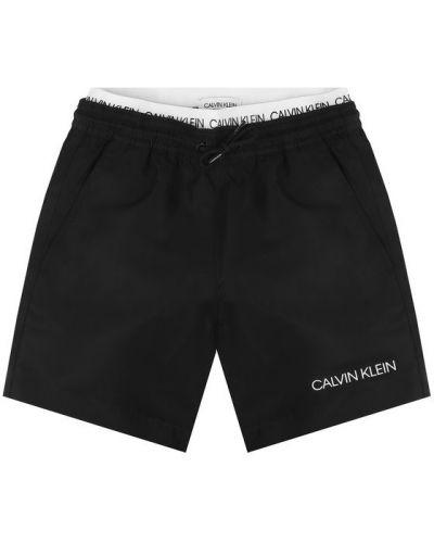 Szorty - czarne Calvin Klein Swimwear
