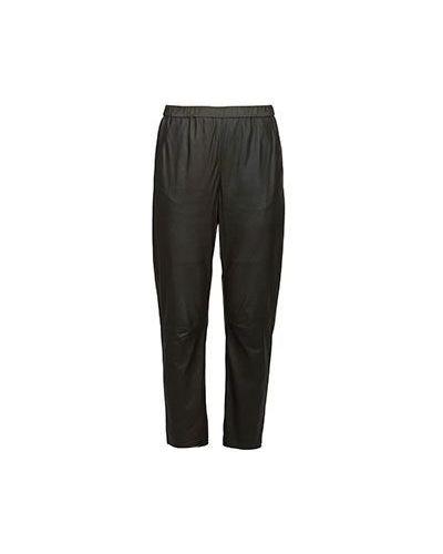 Зеленые укороченные брюки Drome