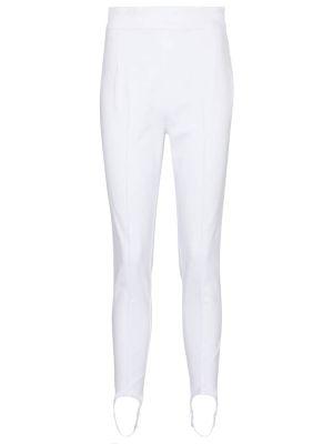 Białe jeansy bawełniane Isabel Marant