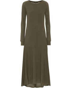 Платье из штапеля зеленый Polo Ralph Lauren