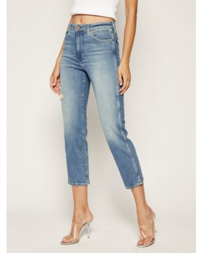 Niebieskie jeansy vintage Wrangler