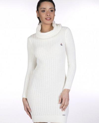 Платье с длинными рукавами - белое Giorgio Di Mare