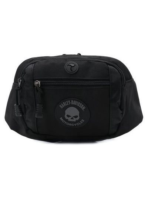 Черная сумка водонепроницаемая Harley Davidson