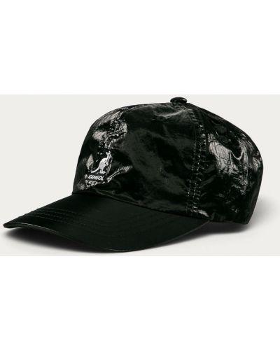 Czarny kapelusz z nylonu Kangol