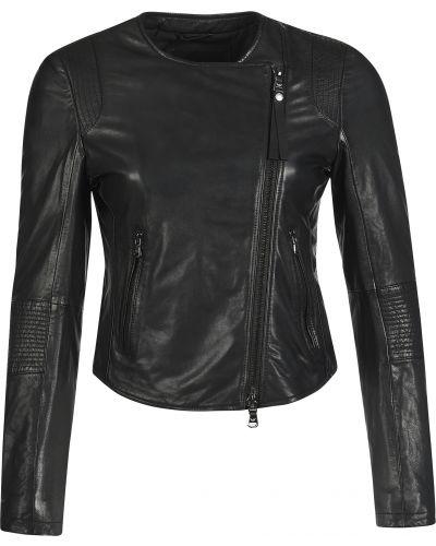 Куртка осенняя черная Emporio Armani