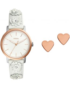 Zegarek biały Fossil