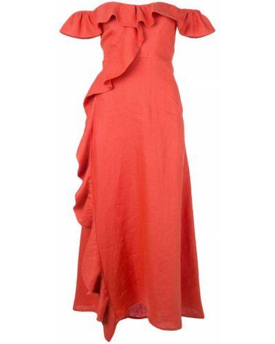 Платье миди с открытыми плечами мини Beau Souci