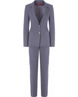 Шерстяной костюм - серый Hugo Boss