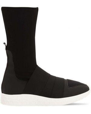 Czarne majtki bawełniane z haftem Fessura