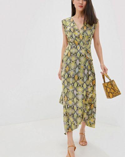 Однобортное платье Warehouse