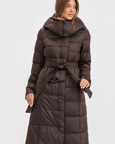 Утепленная куртка - коричневая Clasna