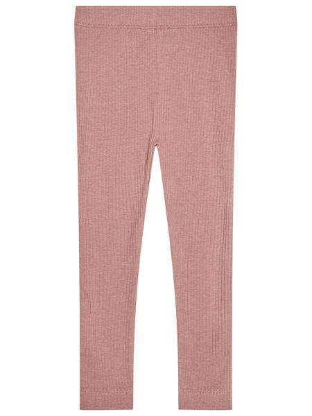 Różowe legginsy Name It