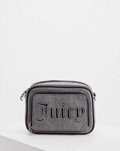 Сумка через плечо серая Juicy Couture