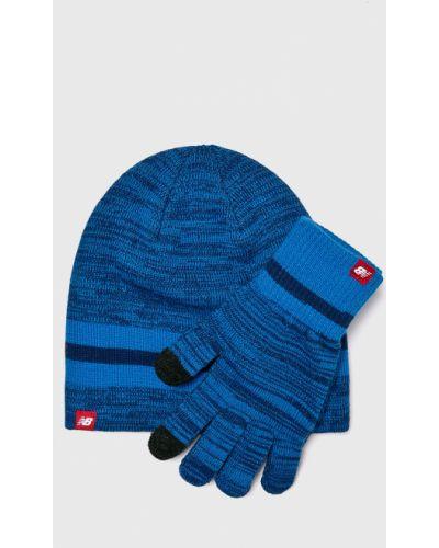 Rękawiczki akryl niebieski New Balance