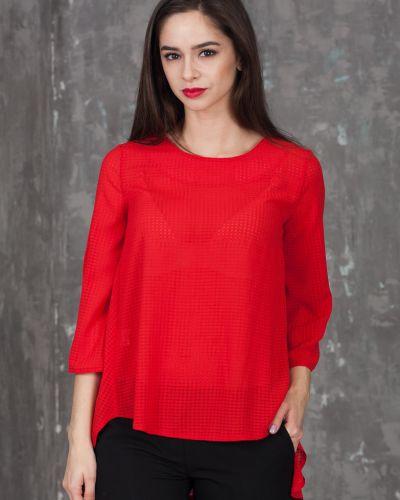 Блузка блузка-трапеция азалия