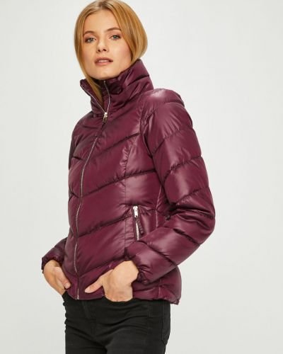 Прямая фиолетовая куртка Broadway