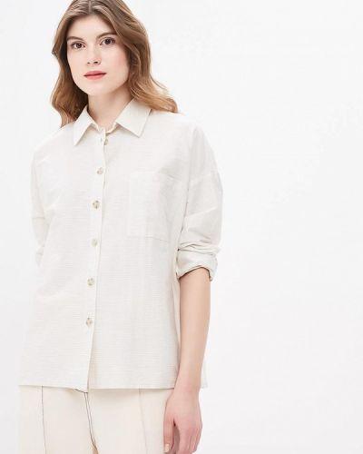 Рубашка с длинным рукавом бежевый Burlo