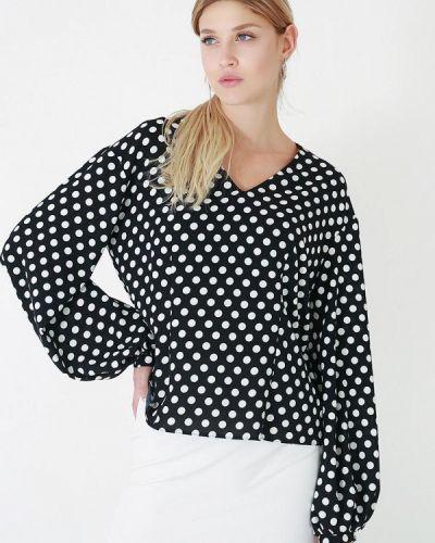 Черная блузка осенняя Lussotico