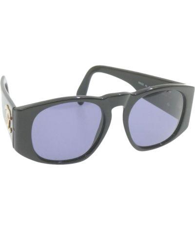 Czarne okulary Chanel Vintage