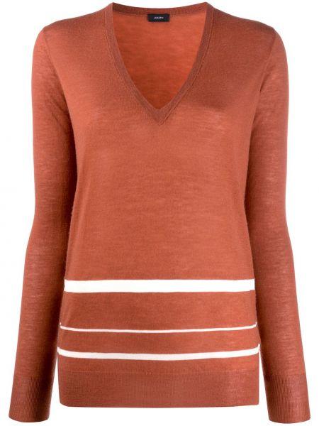 Длинный свитер в рубчик Joseph