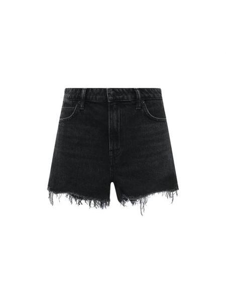 Джинсовые шорты - серые Denim X Alexander Wang