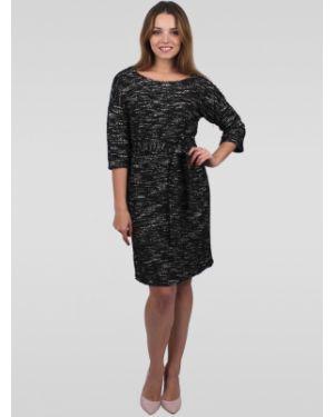 Платье с поясом платье-сарафан с люрексом Lilacollection