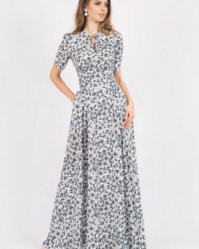 Платье макси оливковый Olivegrey