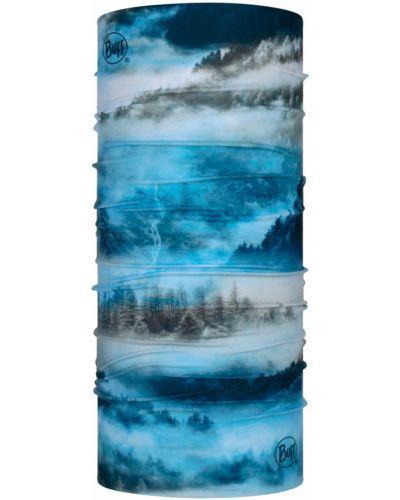 Niebieski szalik materiałowy Buff