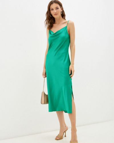 Платье-комбинация - зеленое Imocean