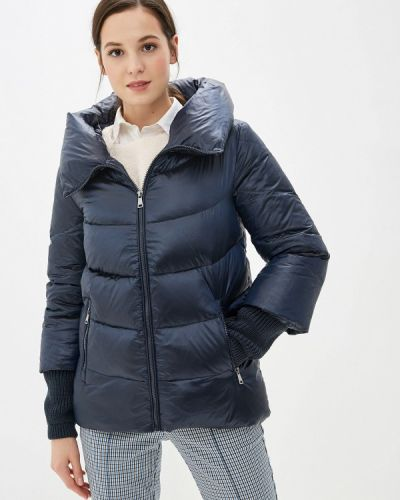 Зимняя куртка осенняя синий La Reine Blanche