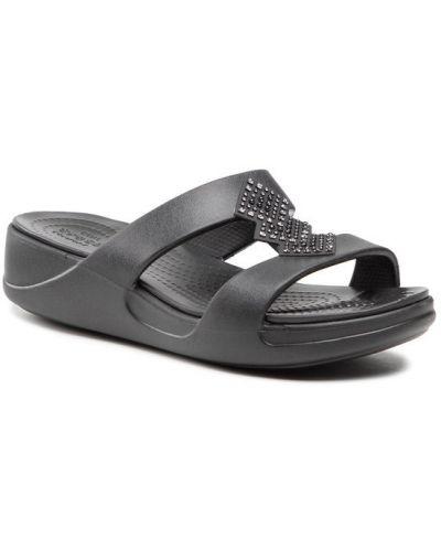 Czarne slipy Crocs