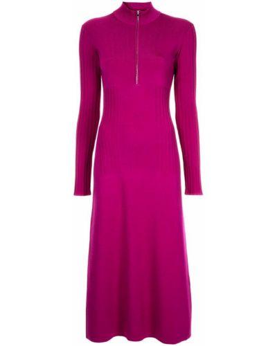 Фиолетовое расклешенное платье Sykes