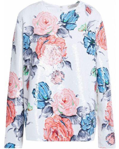 Ażurowa bluzka - biała Nina Ricci