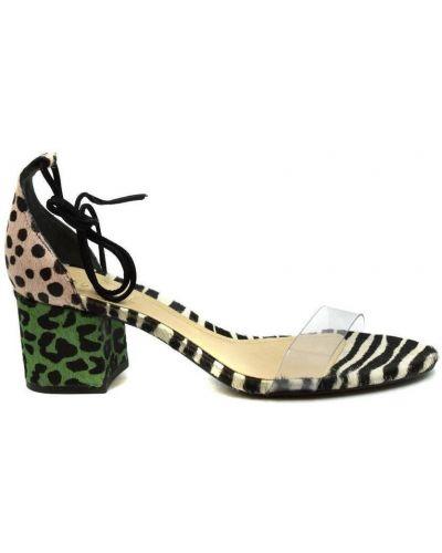 Czarne sandały Schutz