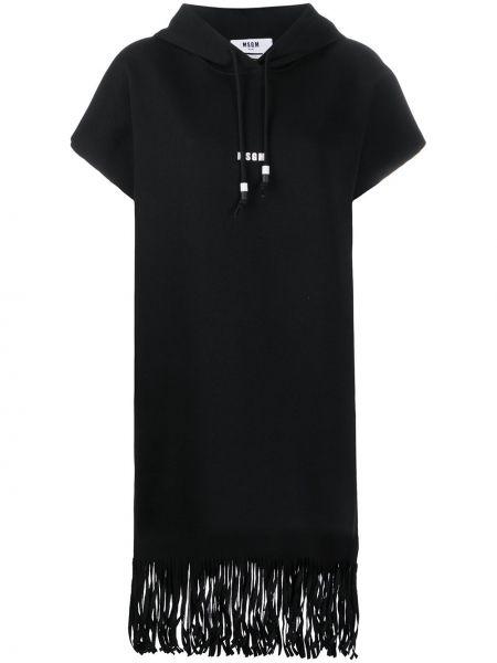 Платье с бахромой платье-майка Msgm