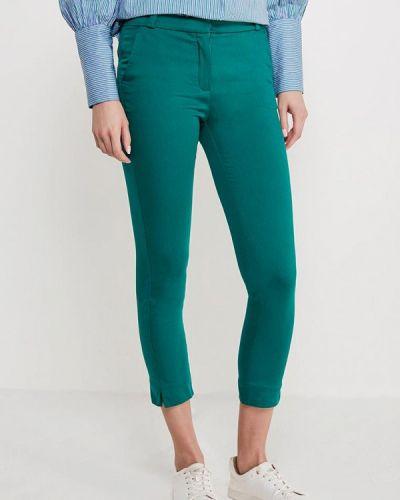 Зеленые зауженные брюки Mango