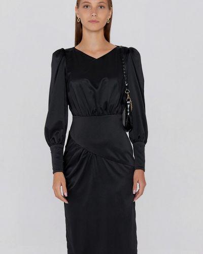 Платье футляр - черное Cardo