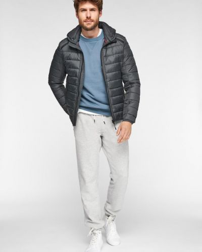 Стеганая куртка - серая S.oliver