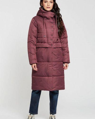 Утепленная красная куртка D`imma