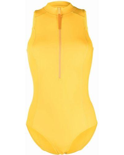 Купальник однотонный - желтый Y-3