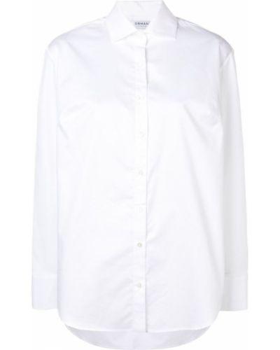 Рубашка с длинным рукавом белая на пуговицах Osman