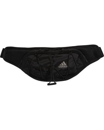 Czarny pasek do biegania Adidas