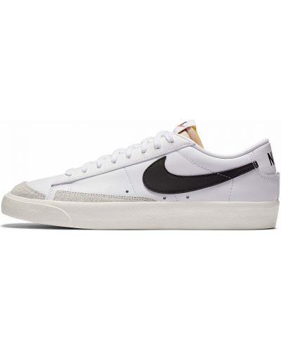Повседневный кожаный белый пиджак Nike