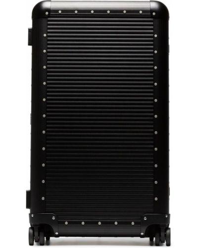 Чемодан на колесиках черный Fpm – Fabbrica Pelletterie Milano